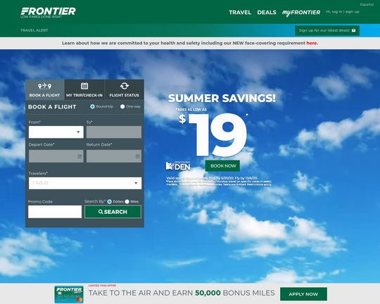 Fly Frontier